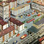 Die moderne Stadt im Modellbau-Katalog der Firma Vollmer im Jahr 1964